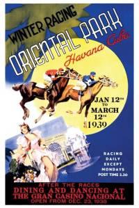 Afiche alusivo al Oriental Park Havana en Cuba