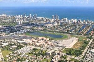 Gulfstream Park es el Hipodromo más importante en el estado de la Florida