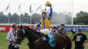 Hi Happy (ARG) ganó el GP Carlos Pellegrini. Foto Cortesía Agencia Télam