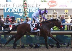 Nyquist (USA) conserva su invicto en el Kentucky Derby.