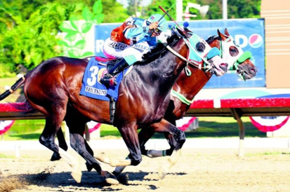 Epicentro (PUR) ganando la edición del 2009 de la Copa Velocidad. Foto Cortesía de Clasico del Caribe