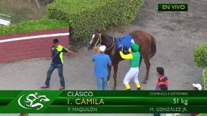 Camila (ECU) tiene dos victorias en cuatro presentaciones con dos segundos.